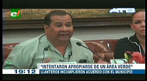 Llanteros en huelga por desalojo, Alcaldía cruceña no permitirá invasiones