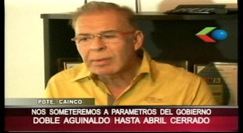 Obreros marcharán por 2do aguinaldo; Cainco pide calma