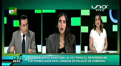 """Diputada Montaño: """"La ley garantiza la igualdad de campañas en los medios masivos"""""""