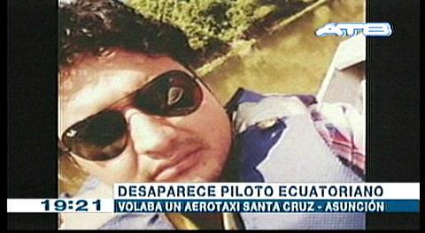 Desaparece piloto ecuatoriano, volaba un aero-taxi Santa Cruz-Asunción