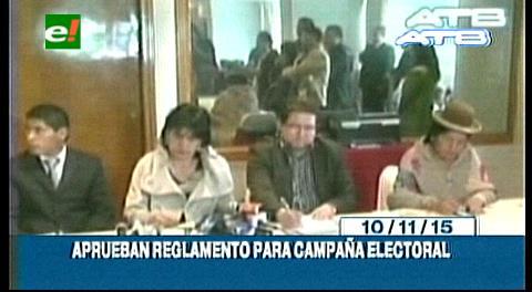 Titulares de TV: TSE aprueba reglamento para la campaña electoral rumbo al referendo constitucional