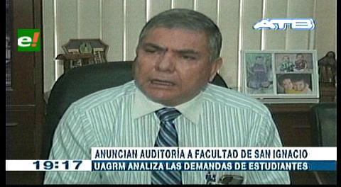 Realizarán auditoría a la Facultad de la Chiquitania