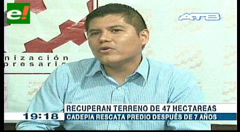 Policía desaloja terrenos de Cadepia después de 5 años
