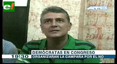 Demócratas anuncian Congreso el 23 de noviembre en Trinidad