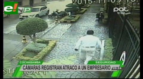 Cochabamba: Siguen a un empresario y le atracan $us 70.000