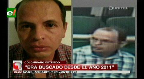 Felcc detiene a una banda de atracadores colombianos