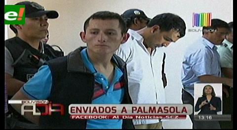 Envían a Palmasola a cuatro de los colombianos de la 'banda del terror'