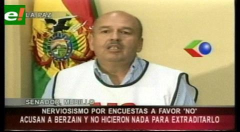 Senador Murillo dice que declaraciones del vicepresidente muestran nerviosismo