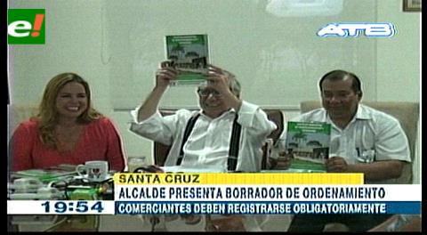 Ciudad ordenada: Alcalde presenta anteproyecto de reglamentación de ley 136
