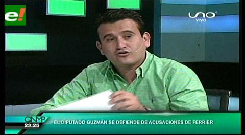 Diputado Guzmán se defiende de las acusaciones del Gobernador Alex Ferrier