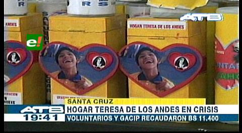 Recolectan 12.409 Bs a favor del Hogar Teresa de Los Andes