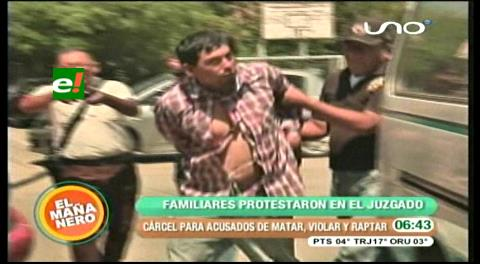 Cochabamba: Atracadores que violaron y mataron van a la cárcel