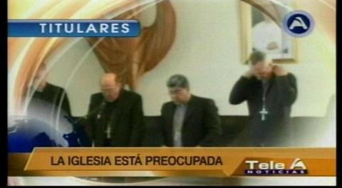 Titulares de TV: Iglesia Católica rechaza el uso de la imagen del Papa Francisco para las campañas políticas