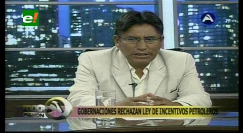 La Paz: Patzi propondrá al Gabinete Departamental demandar inconstitucionalidad de Ley de incentivos