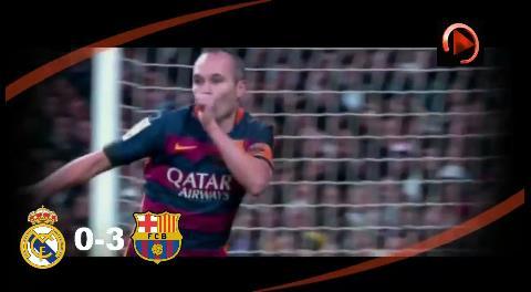 Barcelona aplastó al Real Madrid por 4-0 en su propia casa
