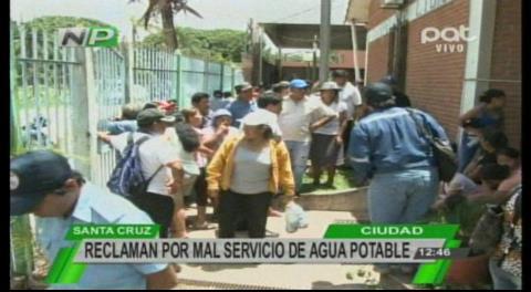 En Santa Cruz vecinos protestan y toman los predios de la Cooperativa El Carmen