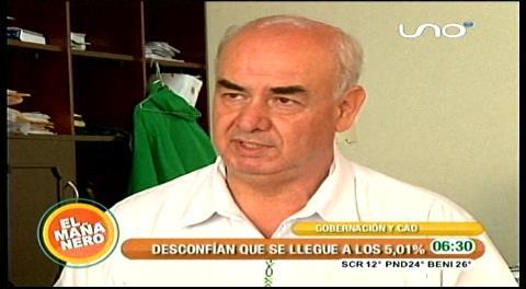 """Parada: """"El crecimiento de 5.01% anunciado por el Gobierno es político"""""""