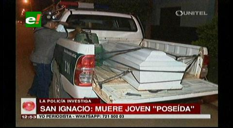San Ignacio: Muere una mujer de un  paro cardíaco, sus familiares indican que estaba poseída
