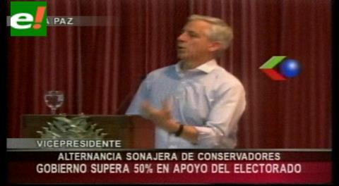"""García Linera: """"La alternancia es la sonajera de los conservadores"""""""