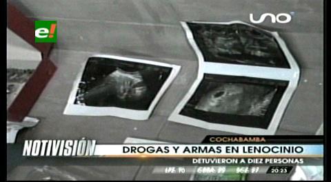 Cochabamba: Hallan marihuana y cocaína en lenocinio