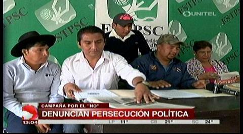 Coordinadora para la defensa de la CPE denuncia persecución