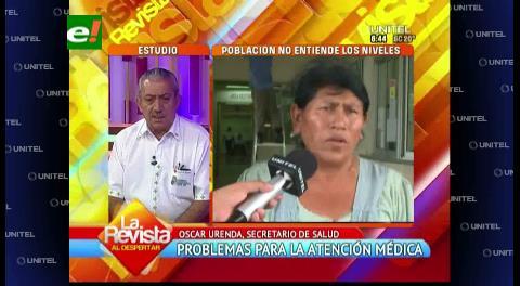 Gobernación cruceña ve una administración municipal poco eficiente en el área de la salud