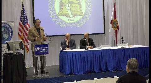 Video: Montaner presentó el nuevo libro de Martínez en Miami