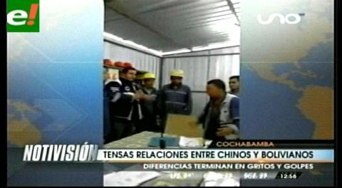 Diferencias entre un chino y un boliviano terminan en golpes