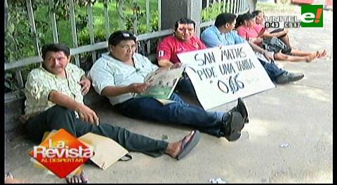 Vigilia de los matieños en Guaracachi llega a su undécimo día