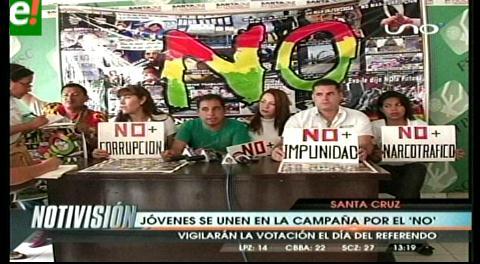 """OIP y """"Todos podemos ser presidente"""" se unen para hacer campaña por el No"""
