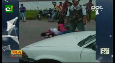 Una mujer muere arrollada por un vehículo
