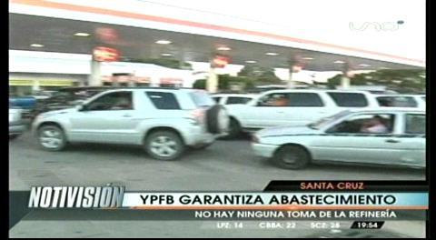 Gobierno garantiza abastecimiento de combustibles en Bolivia, pese a paro de transporte