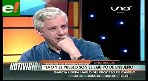 Evo y el pueblo: García Linera dice que en Bolivia se dio una fórmula de ensueño