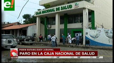 Santa Cruz: Paro de 24 horas de los trabajadores de la CNS
