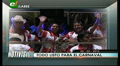 Titulares de TV: Todo listo para el carnaval cruceño, 144 comparsas harán su paso por el Cambódromo