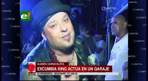 Ex Kumbia Kings puso ritmo al carnaval cruceño