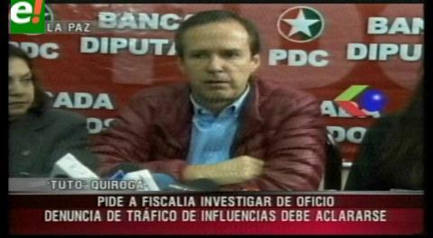 Tuto pide investigar la denuncia de tráfico de influencias en la CAMC