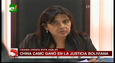 Virginia Crespo evitó hablar con la prensa sobre el fallo a CAMC