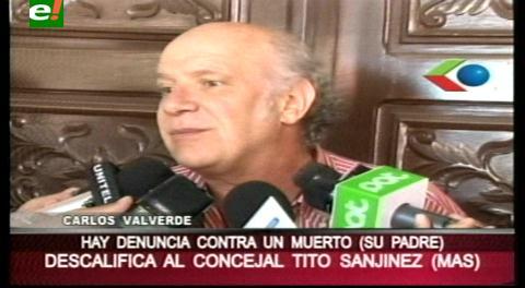 """Valverde sobre la demanda de Sanjinez: """"Hay una denuncia en contra de un muerto, que lo citen en el cementerio"""""""