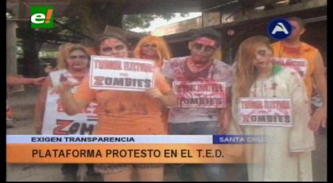 """Zombies"" toman el TED de Santa Cruz"