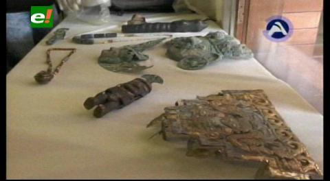 Pertenecientes a Bolivia y Perú: Recuperan piezas arqueológicas valoradas en Un millón de dólares