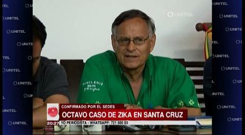 Reportan 8vo caso de zika en Santa Cruz