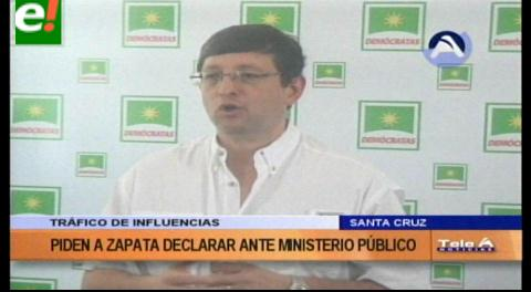 Exigirán a la comisión parlamentaria que convoque a declarar a Gabriela Zapata