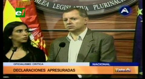 Presidentes de cámaras legislativas piden no politizar deceso de seis personas en El Alto