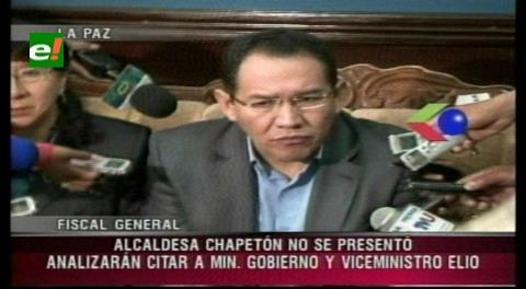 Chapetón no se presentó a declarar por los hechos de El Alto