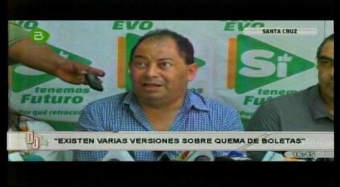 Ministro Romero dice que quema de papeletas fue decisión acordada entre los jurados y delegados