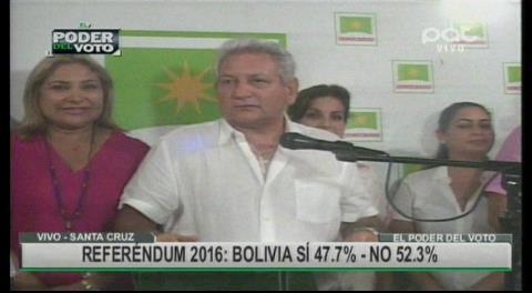 """Rubén Costas: """"Bolivia dijo NO"""""""