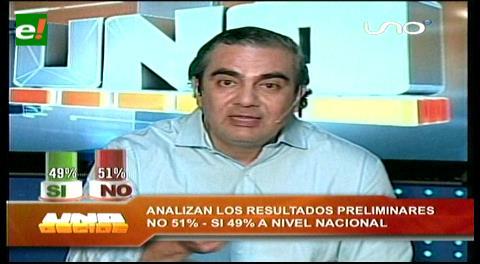 """Ministro Siles califica de """"irresponsable"""" festejar con datos extraoficiales"""