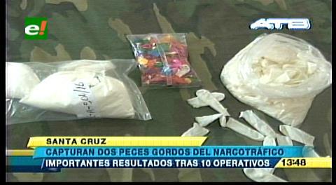 """Felcn confisca 899 kg de droga y arresta a dos """"peces gordos"""""""