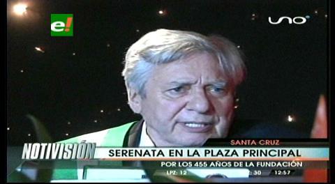 Percy Fernández será distinguido en el aniversario de Santa Cruz